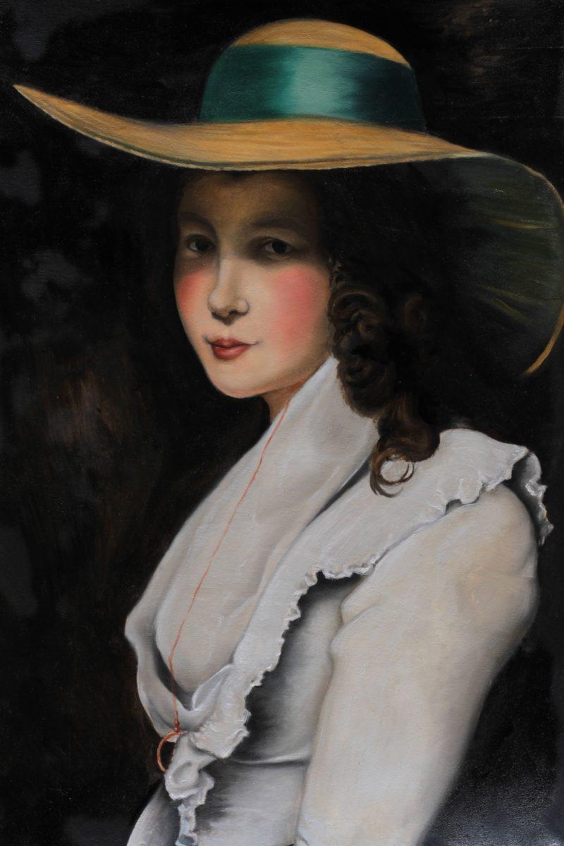 La Dama con Cappello di Alessandro Acquaviva